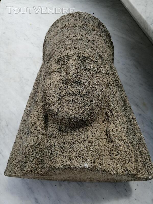 Superbe Sculpture En Pierre