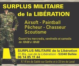 Surplus Militaire 53340 Ballée