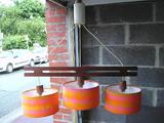 Suspension vintage teck style scandinave