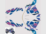 Suzuki GSX R 1100 1992 Kit déco stickers