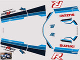 Suzuki GSX R 750 1985 Kit déco stickers