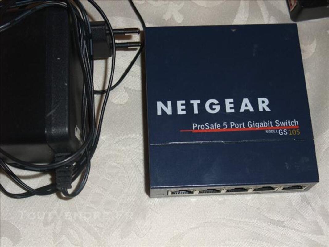 Switch netgear 5 ports GS105 73990532