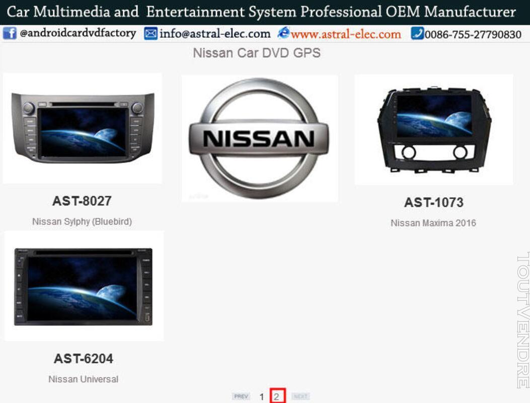 Système GPS pour voiture au tableau de bord grossiste Nissan 421386905