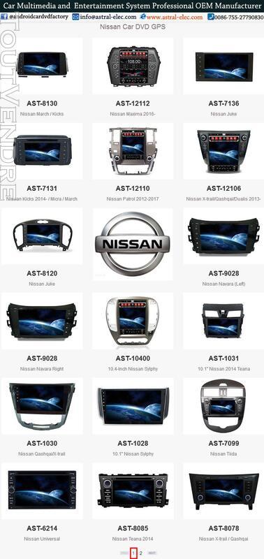 Système GPS pour voiture au tableau de bord grossiste Nissan 421386908