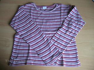 T-shirt fille multicouleur - 8 ans
