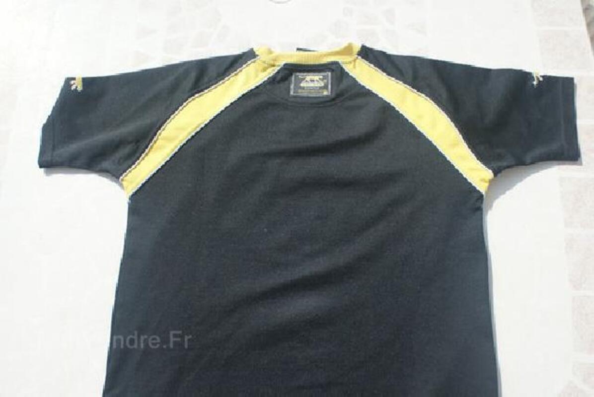 T-shirt noir AIRNESS garçon T. 14 ANS 105419262
