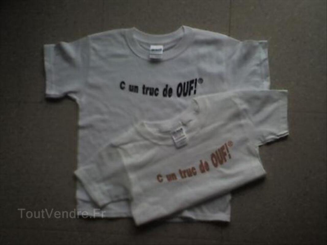 """T SHIRTS """"C un truc de OUF!"""" enfants 56113206"""