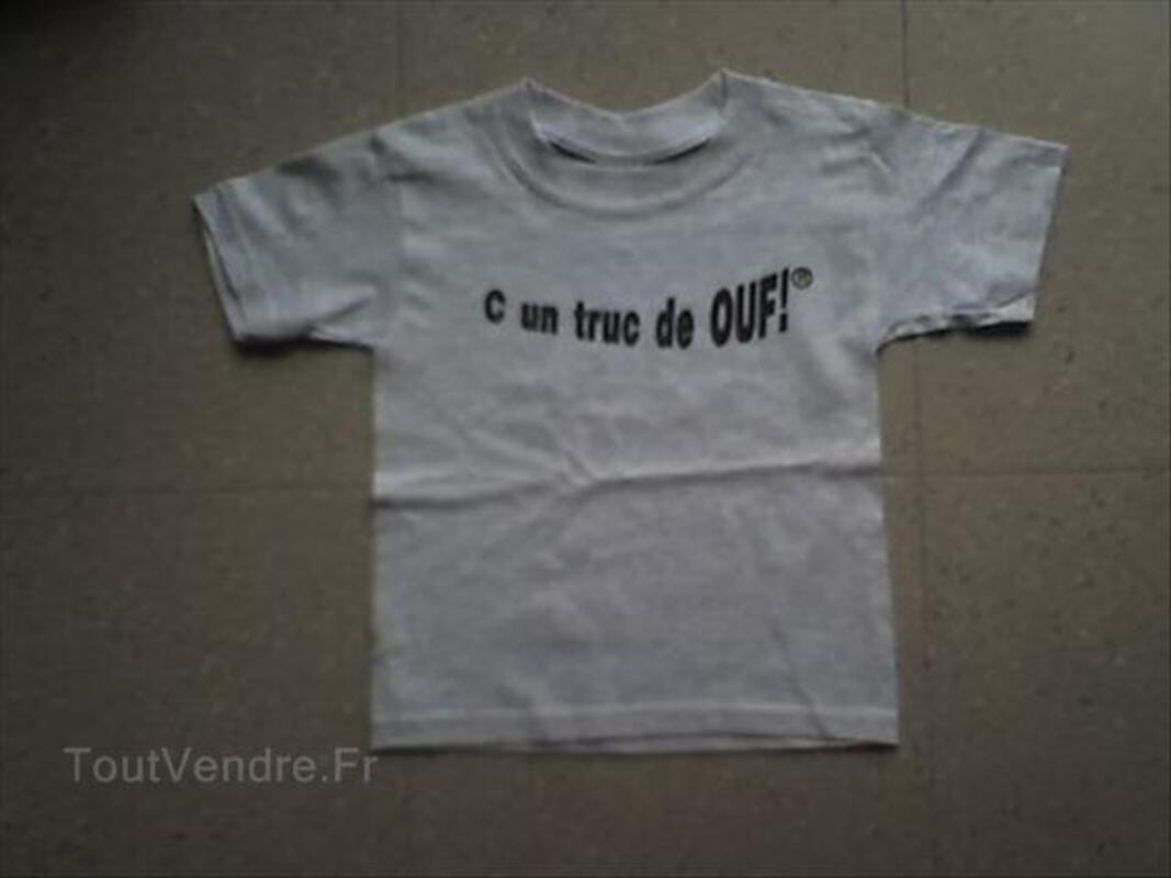 """T SHIRTS """"C un truc de OUF!"""" enfants 56113207"""