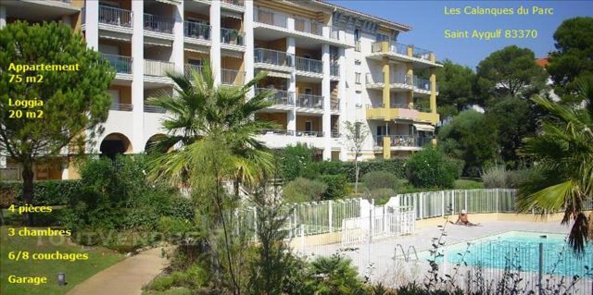 T4 75m2 6/8p bord mer Piscine Centre Saint Aygulf 83370 VAR 84035230