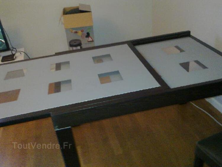 TABLE + 4 CHAISES CHOCOLAT FLY 95902252