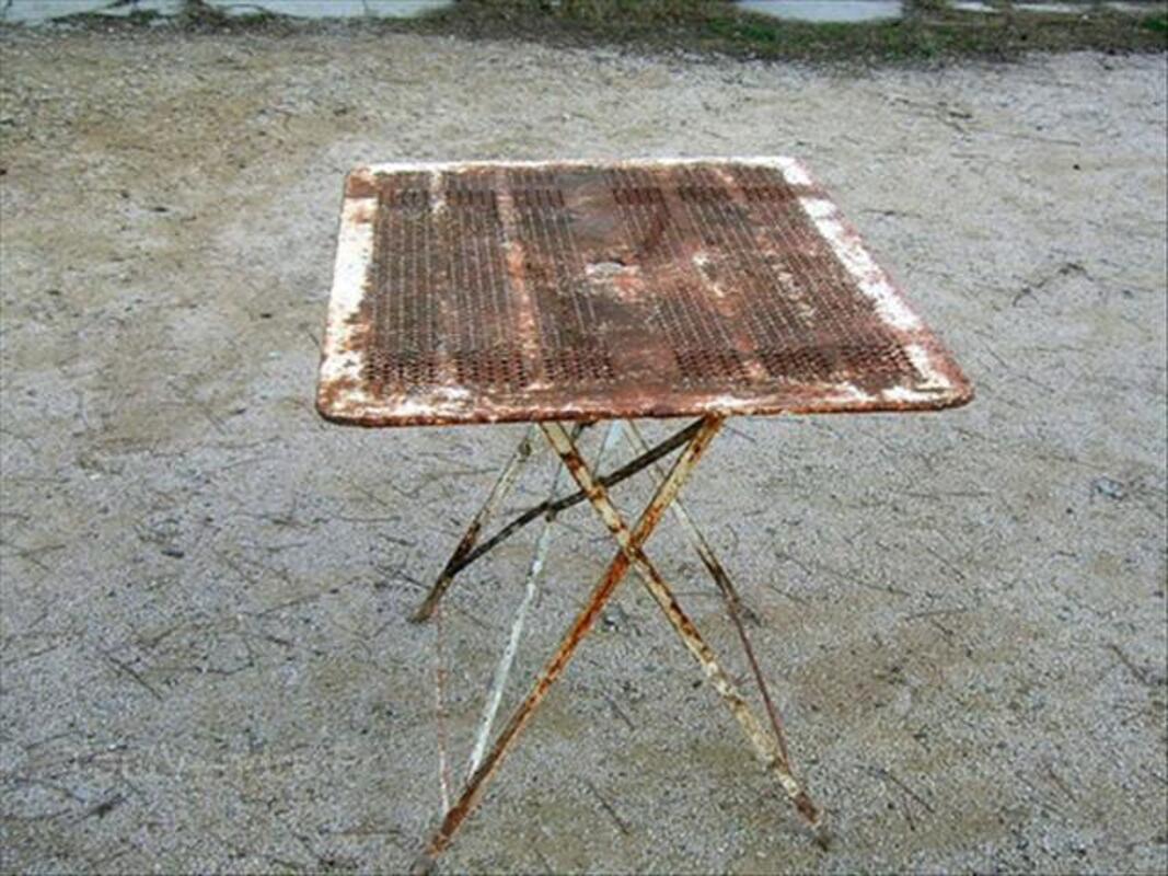 Table ancienne de jardin 55932644