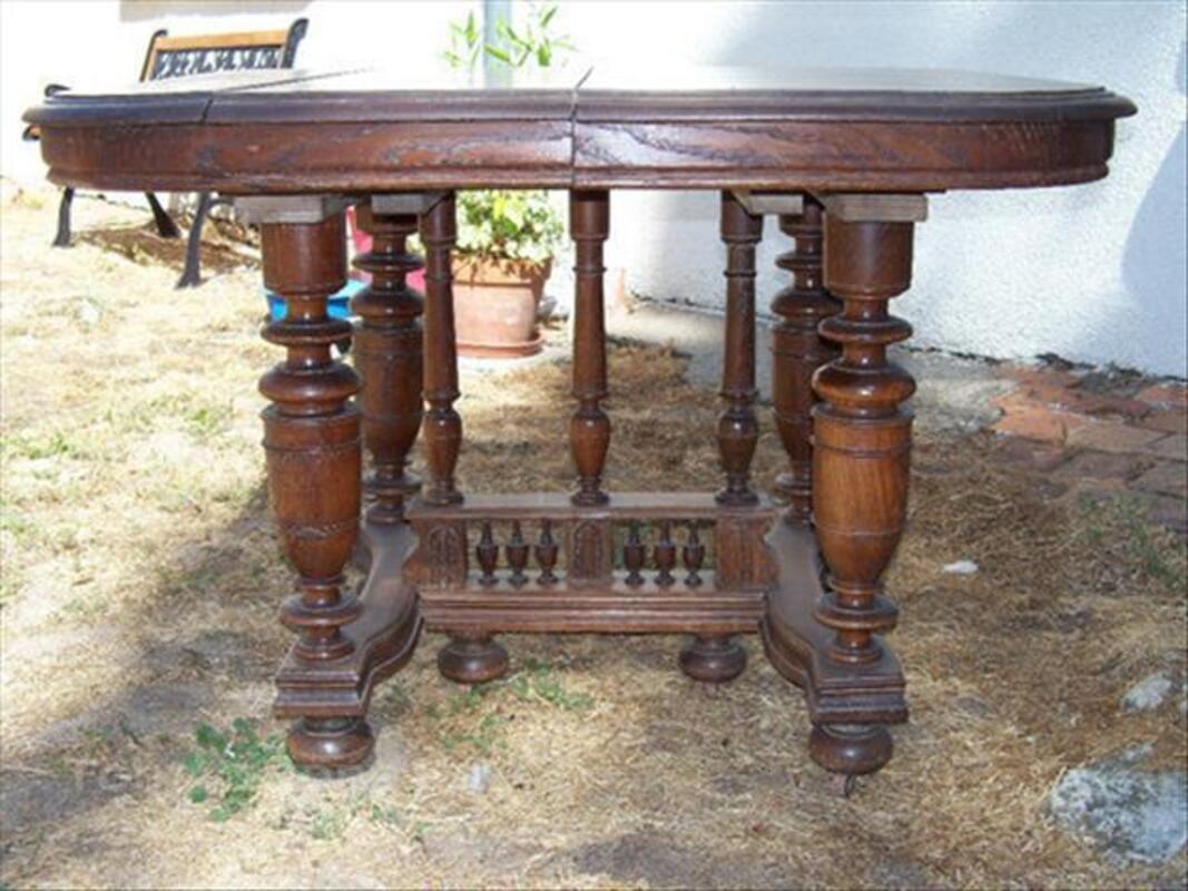 Table ancienne en chêne massif Henri 2 84086686