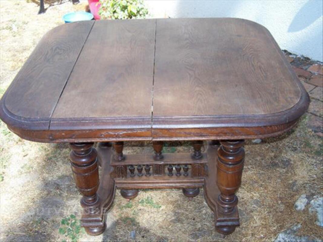 Table ancienne en chêne massif Henri 2 84086687
