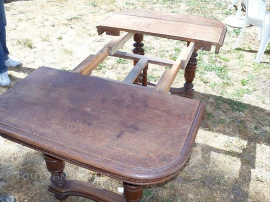 Table ancienne en chêne massif Henri 2 84086688