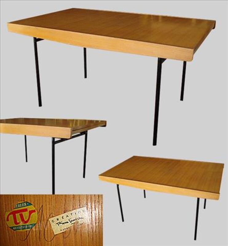 Table années 50 pierre guariche meubles tv à restaurer 93716880
