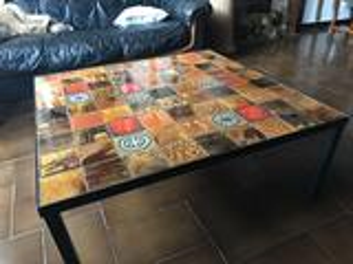 Table artisanale fer forgé