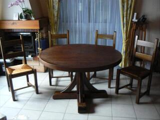 Table aulne massif