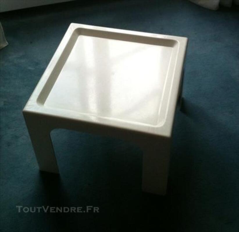 Table basse blanche Vintage 84073937