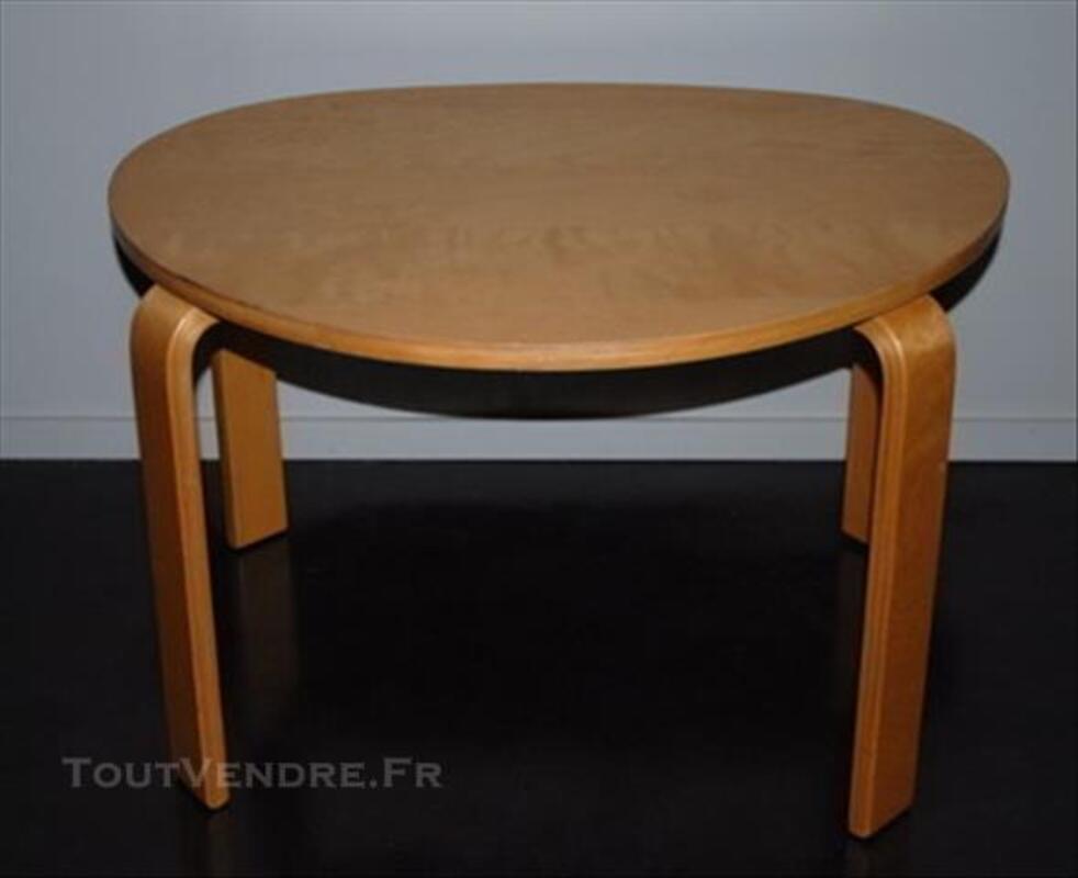 TABLE BASSE DE SALON BOIS VERNIS 77359542