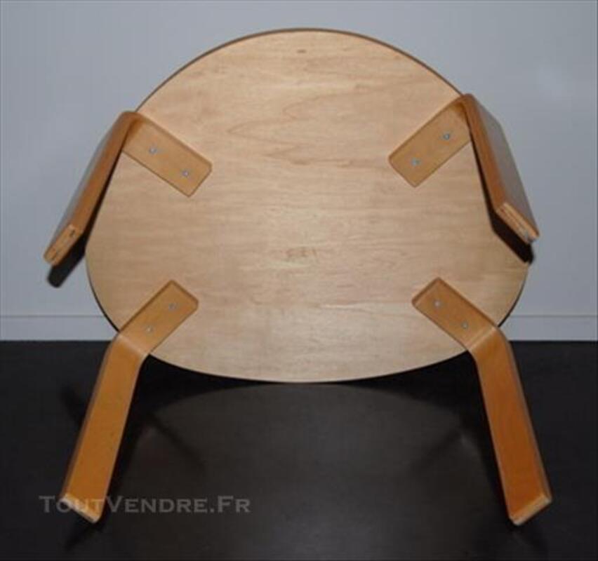 TABLE BASSE DE SALON BOIS VERNIS 77359544