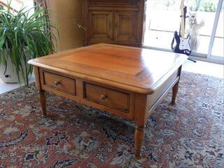 Table basse de salon style Louis Philippe