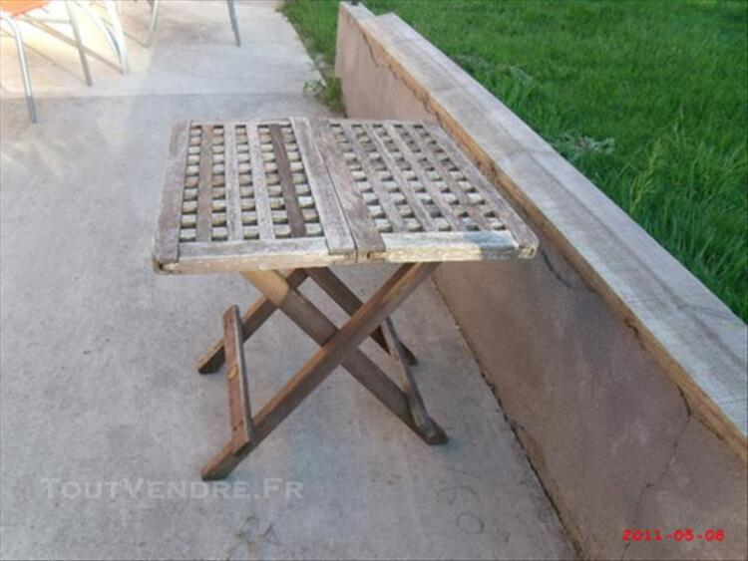 Table basse pliante de jardin 74024809