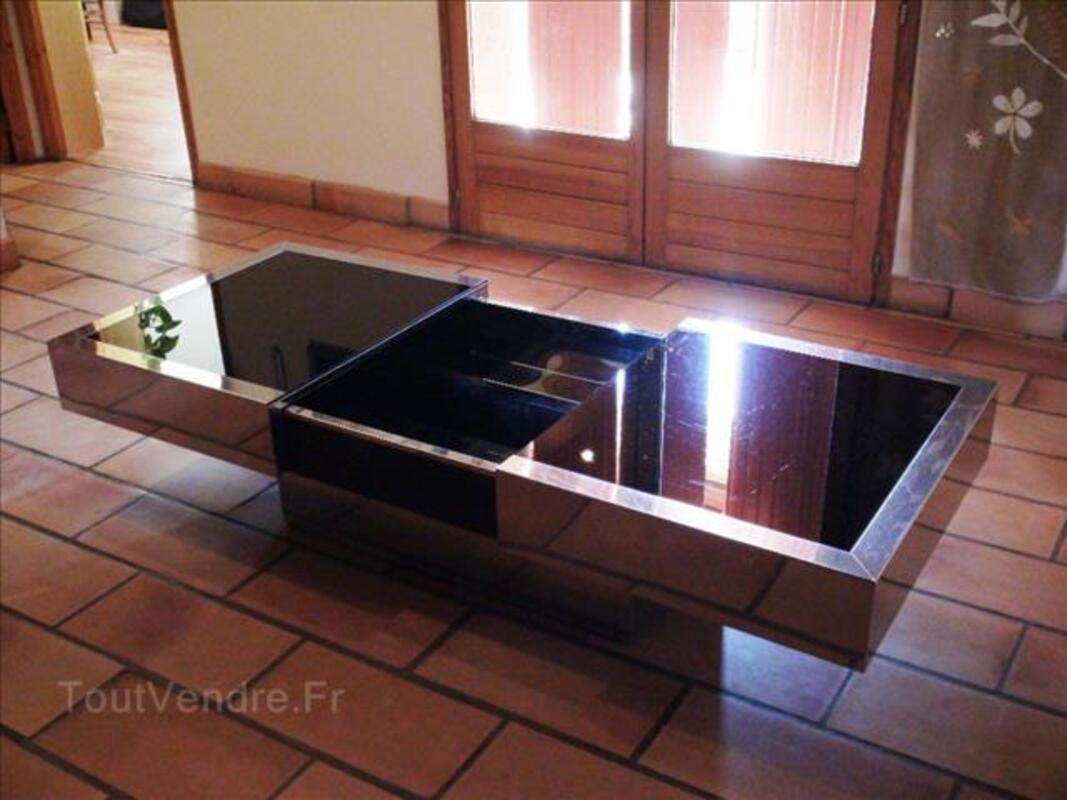 """Table basse """"Roche-Bobois"""" avec bar intégré 88353462"""