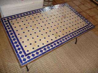 Table basse style marocain