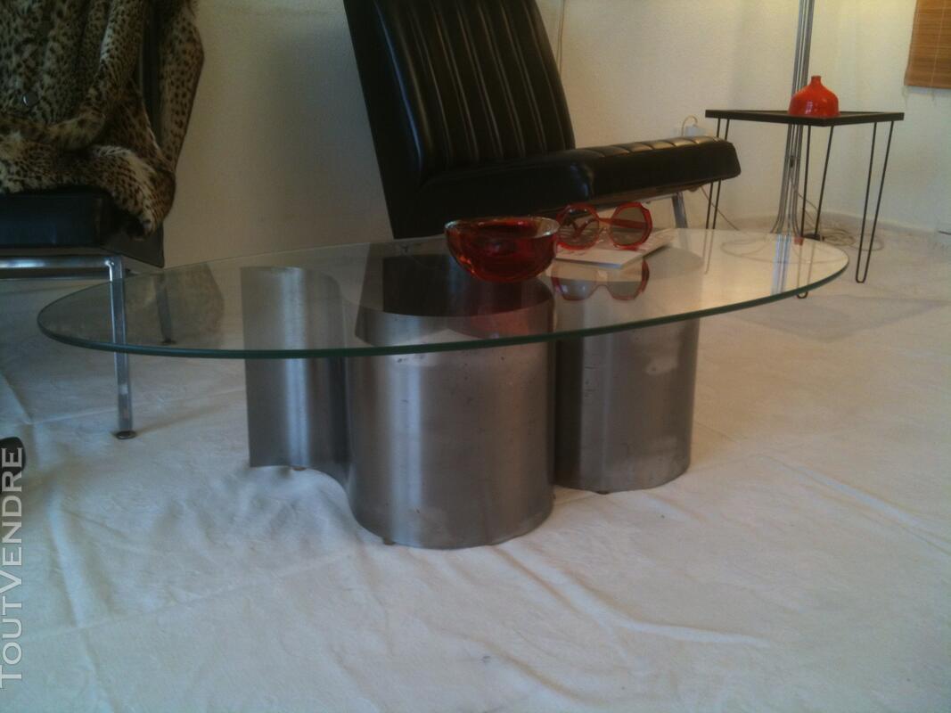 TABLE BASSE VINTAGE 70 INOX 118600263