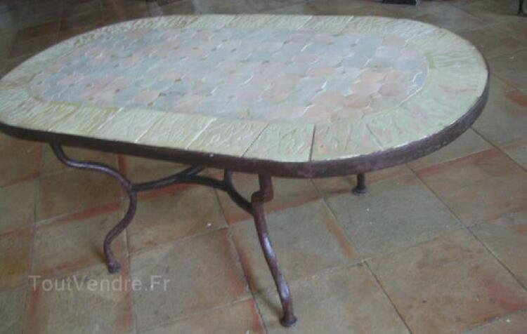 Table basse zellige (mosaique) style oriental 96675881