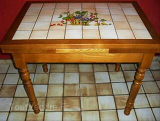 Table de cuisine + 6 chaises
