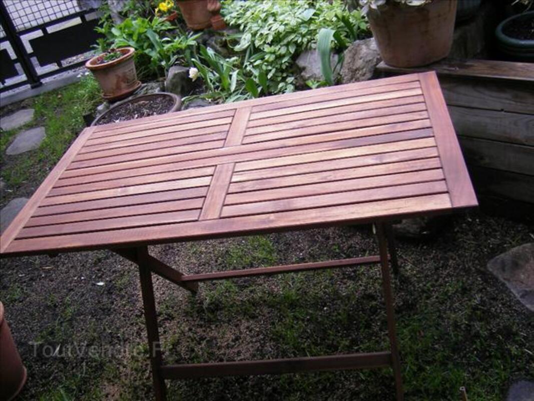 Table de jardin neuve en bois exotique 72278321