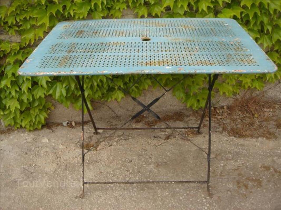 Table de jardin pliante en métal / style mategot 86874201