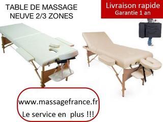 Table de massage pro  79 euros