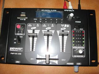 Table de mixage power acoustic PMP 100 USB neuve