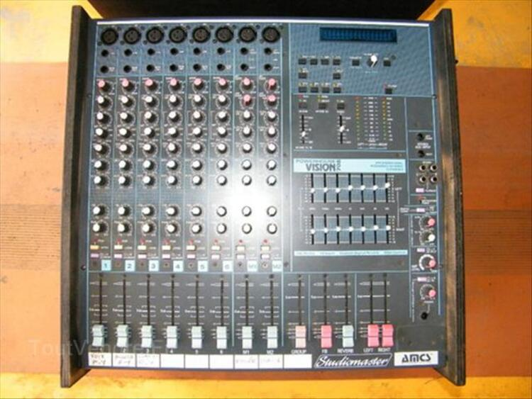 TABLE de mixage  Studio Master  amplifiée 2x350W 66096168