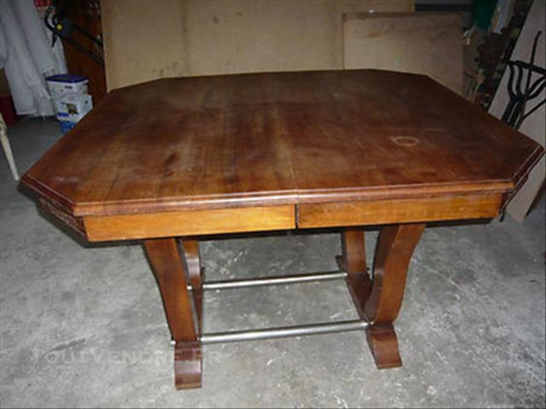 TABLE DE SALLE A MANGER EN NOYER 76872554