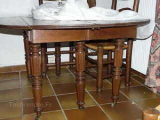 TABLE DE SALLE A MANGER STYLE LOUIS PHILIPPE