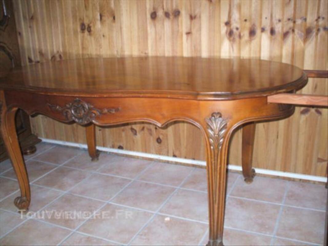 Table de salle à manger Style REGENCE  en  merisier 45570203