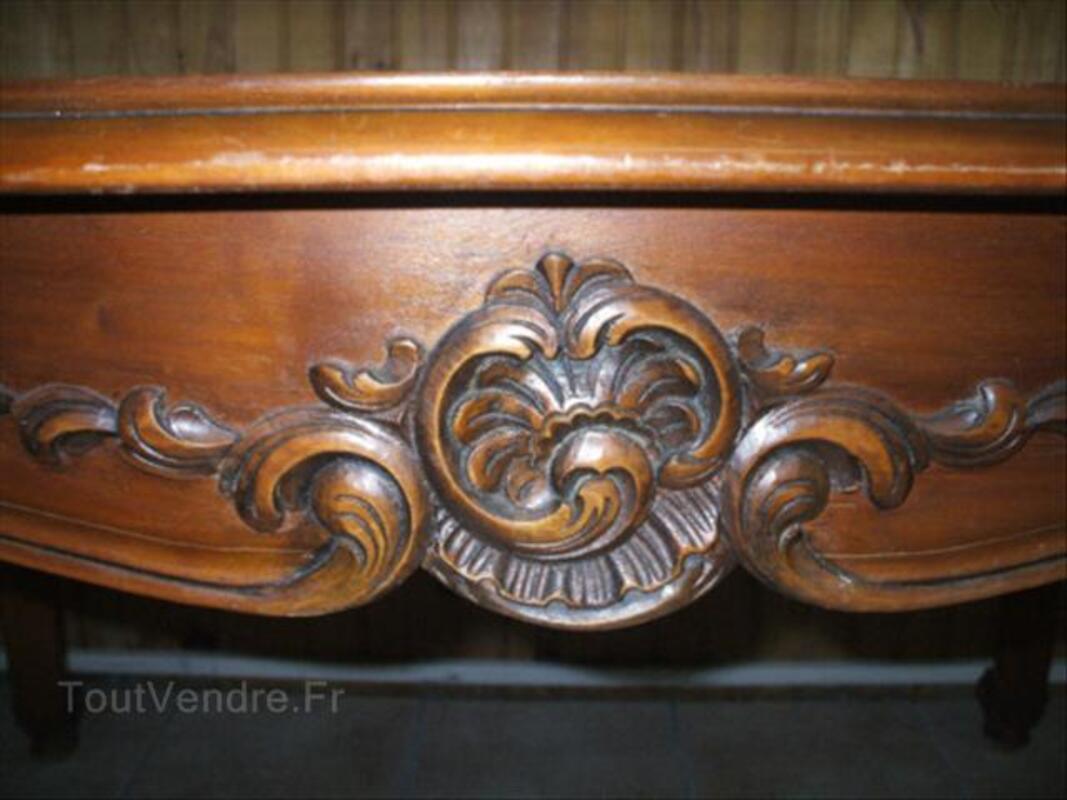 Table de salle à manger Style REGENCE  en  merisier 46718109