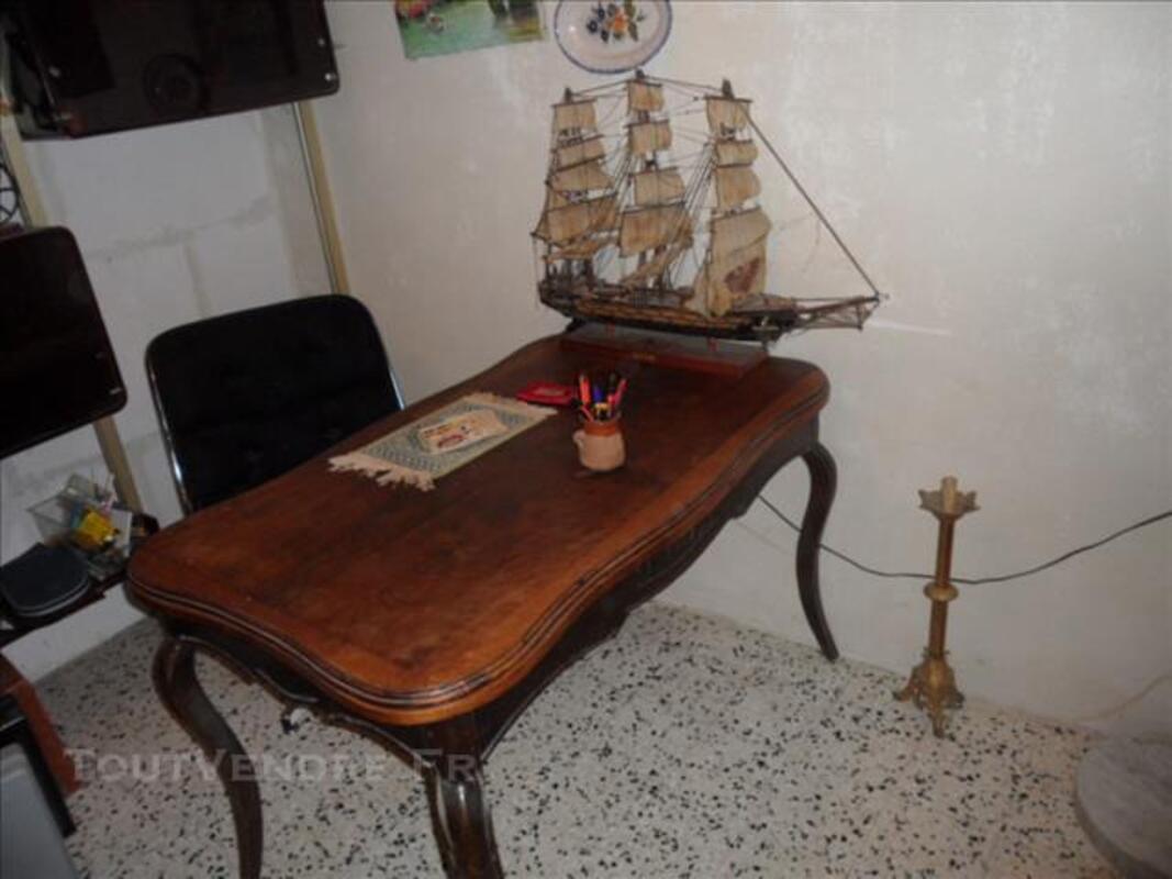 Table de style Louis XV à rallonge, ancienne 82558843