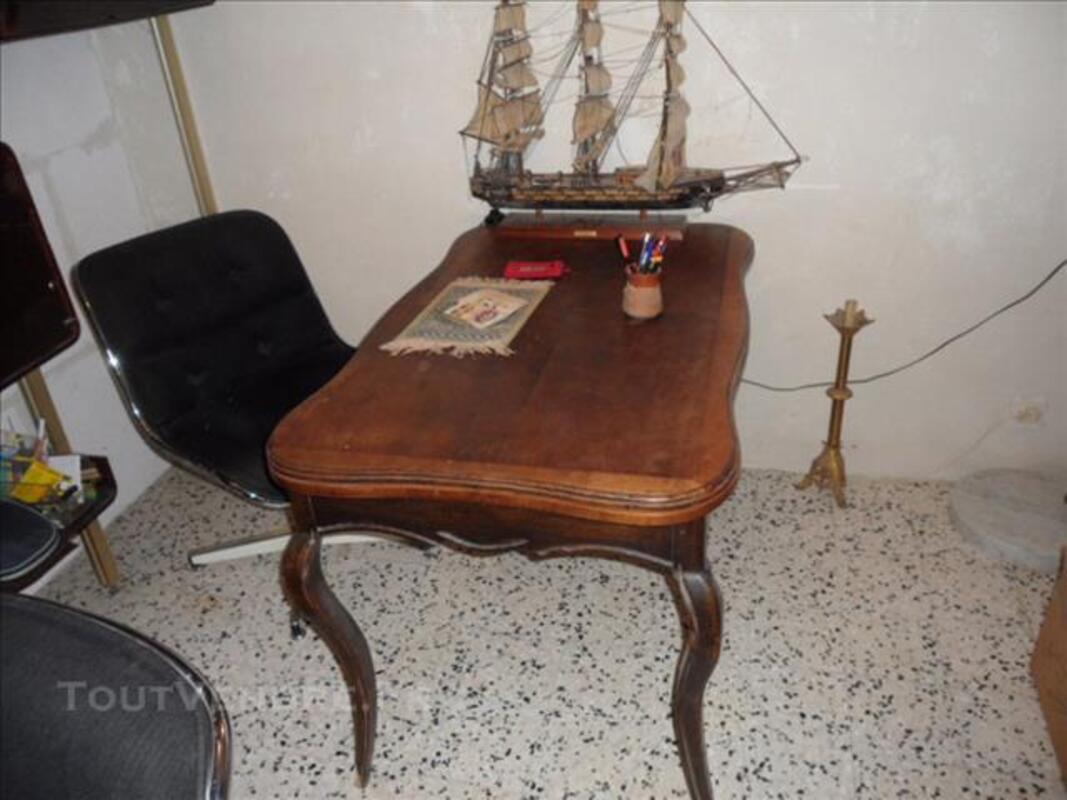 Table de style Louis XV à rallonge, ancienne 82558844