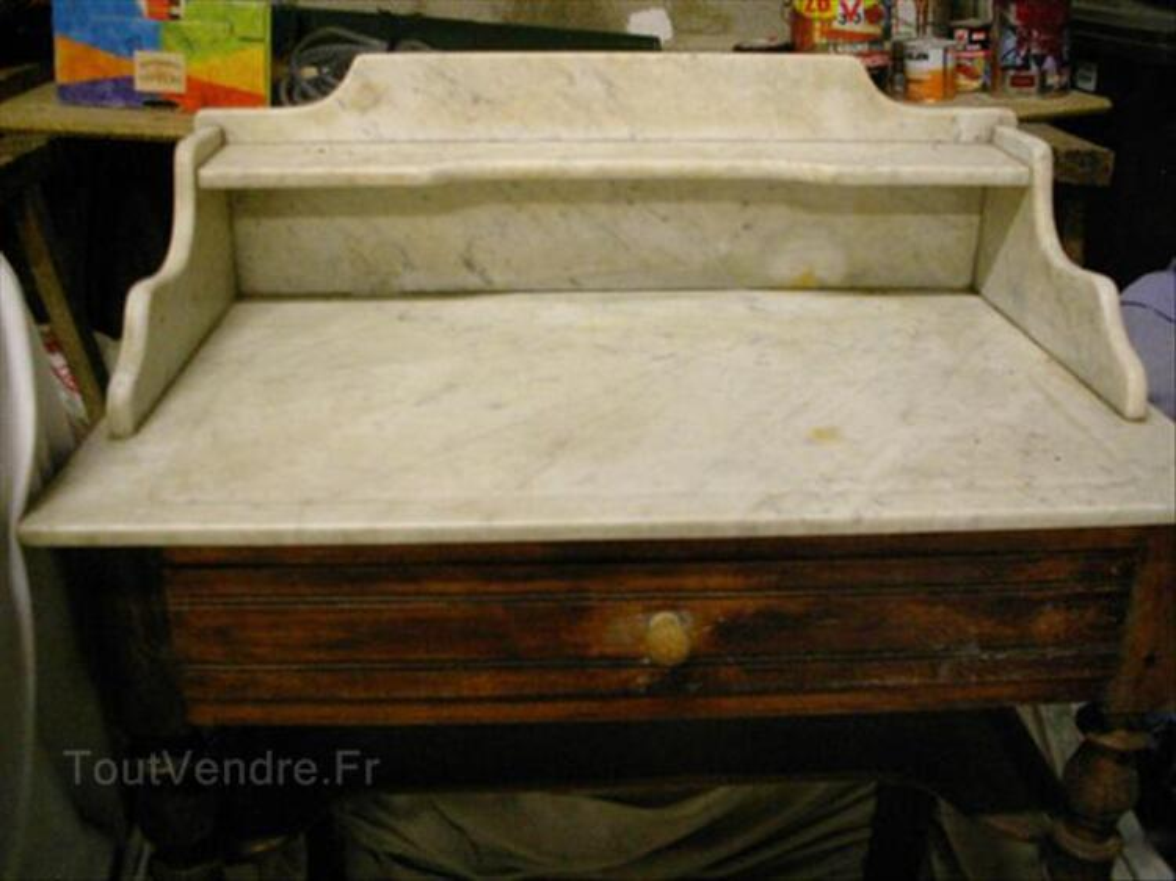 Table de toilette ancienne 66122055