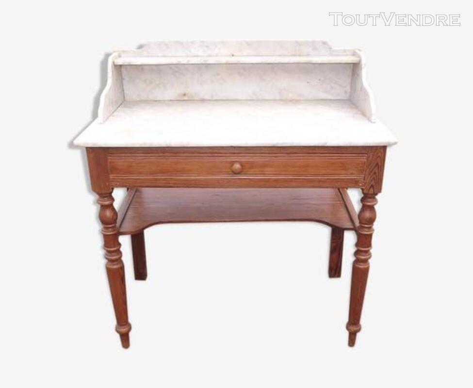 Table de toilette dessus marbre 503617332