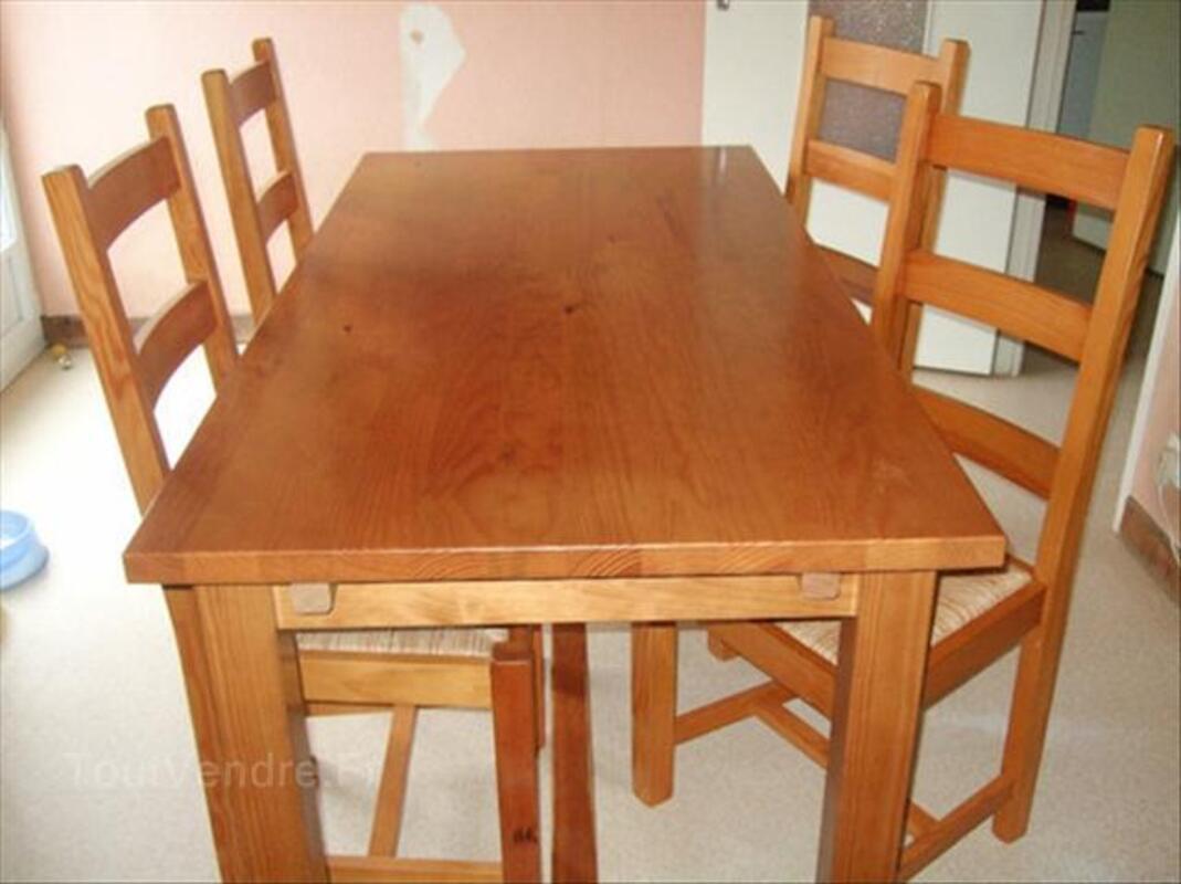 Table en pin massif 56208797