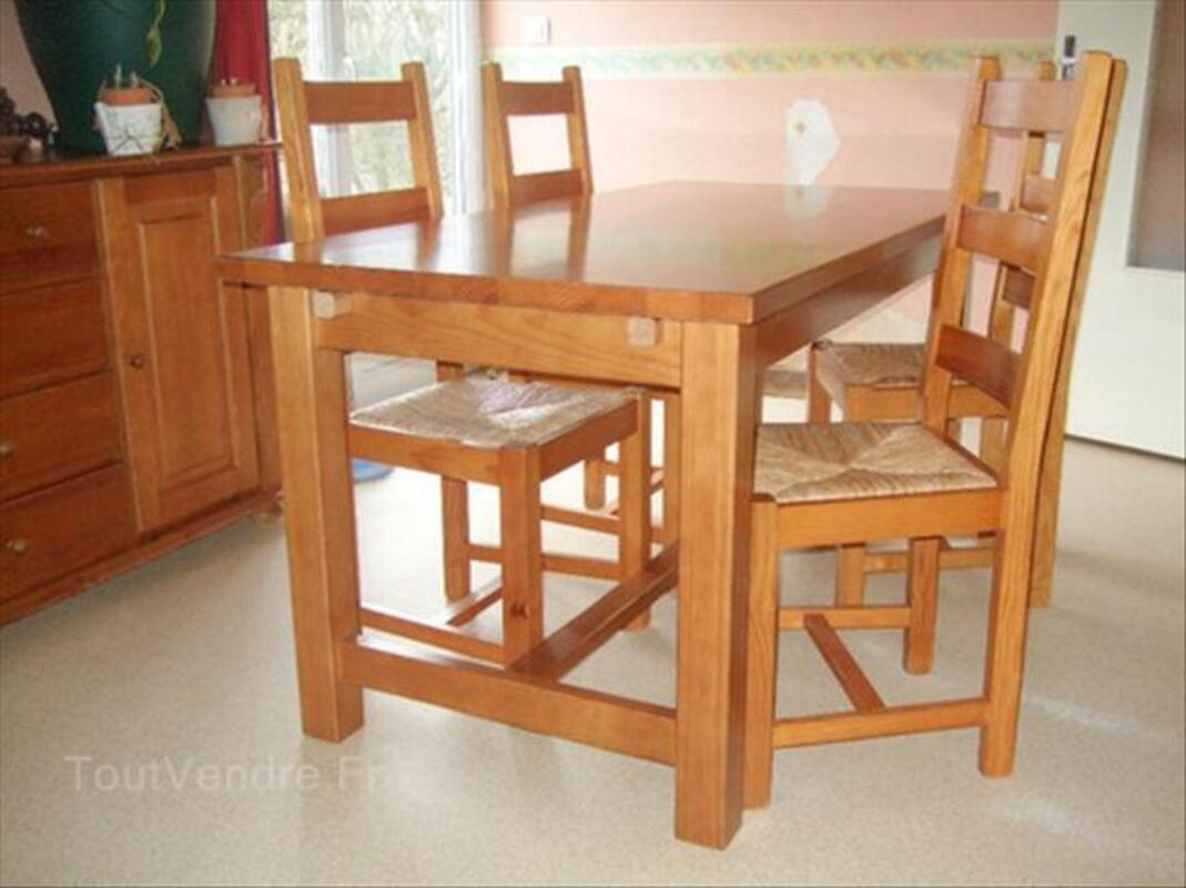 Table en pin massif 56208799
