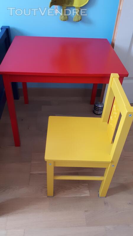 Table et chaise enfant ikea KRITTER 683273652