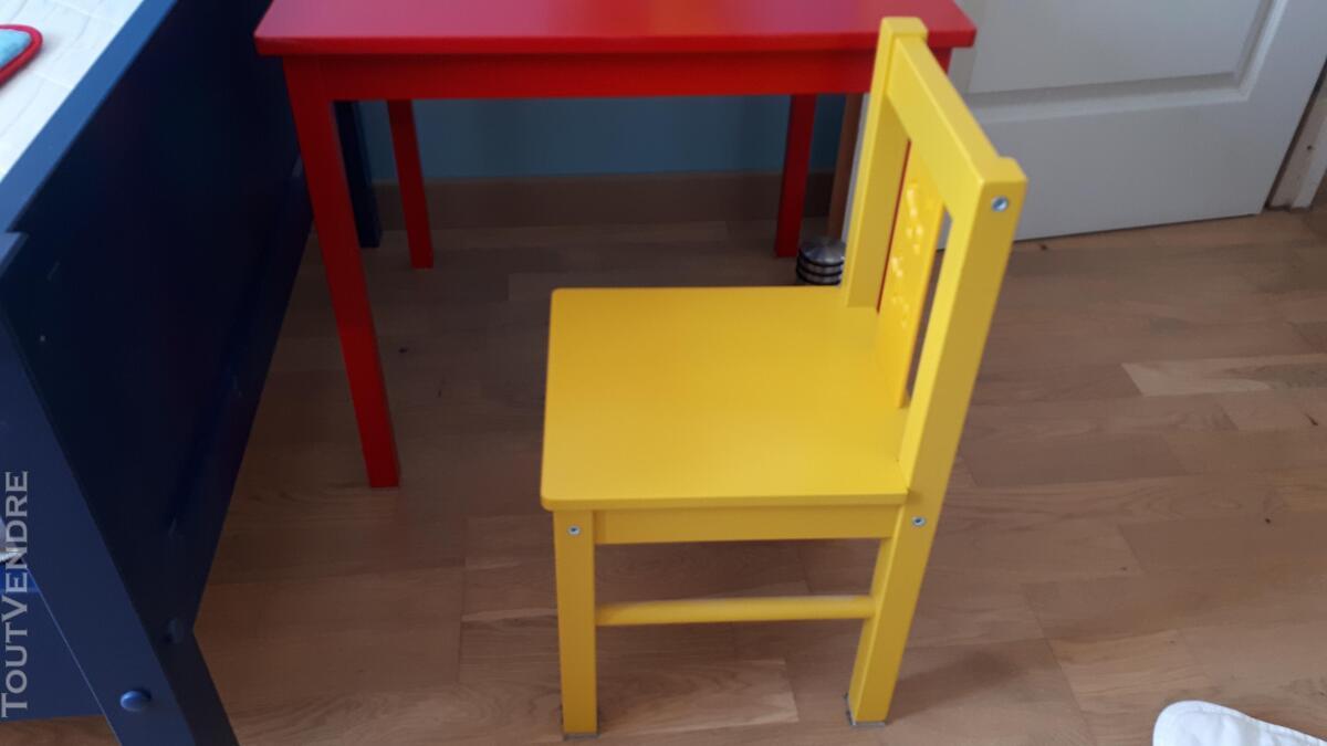 Table et chaise enfant ikea KRITTER 683273661