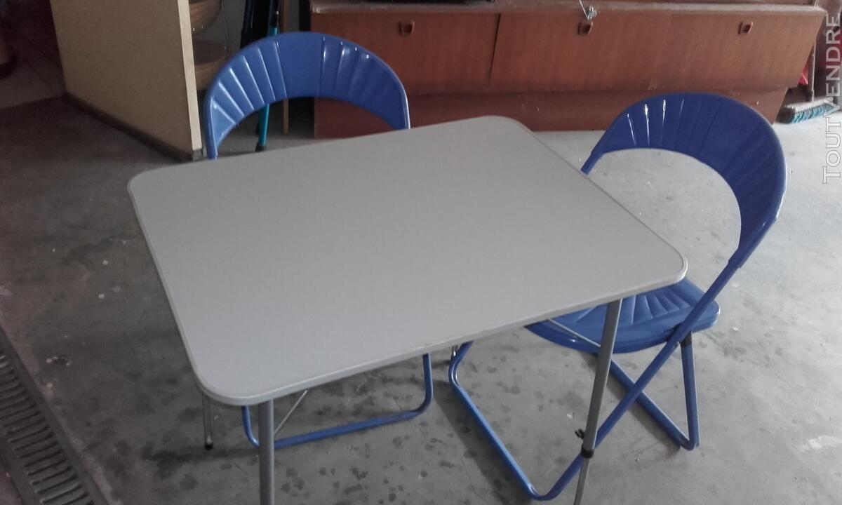 TABLE ET CHAISE 705422616