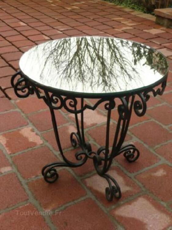 TABLE FER FORGE ART DECO 92585074